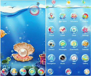 aplikasi tema android terbaik SeaFloor GO Super Theme