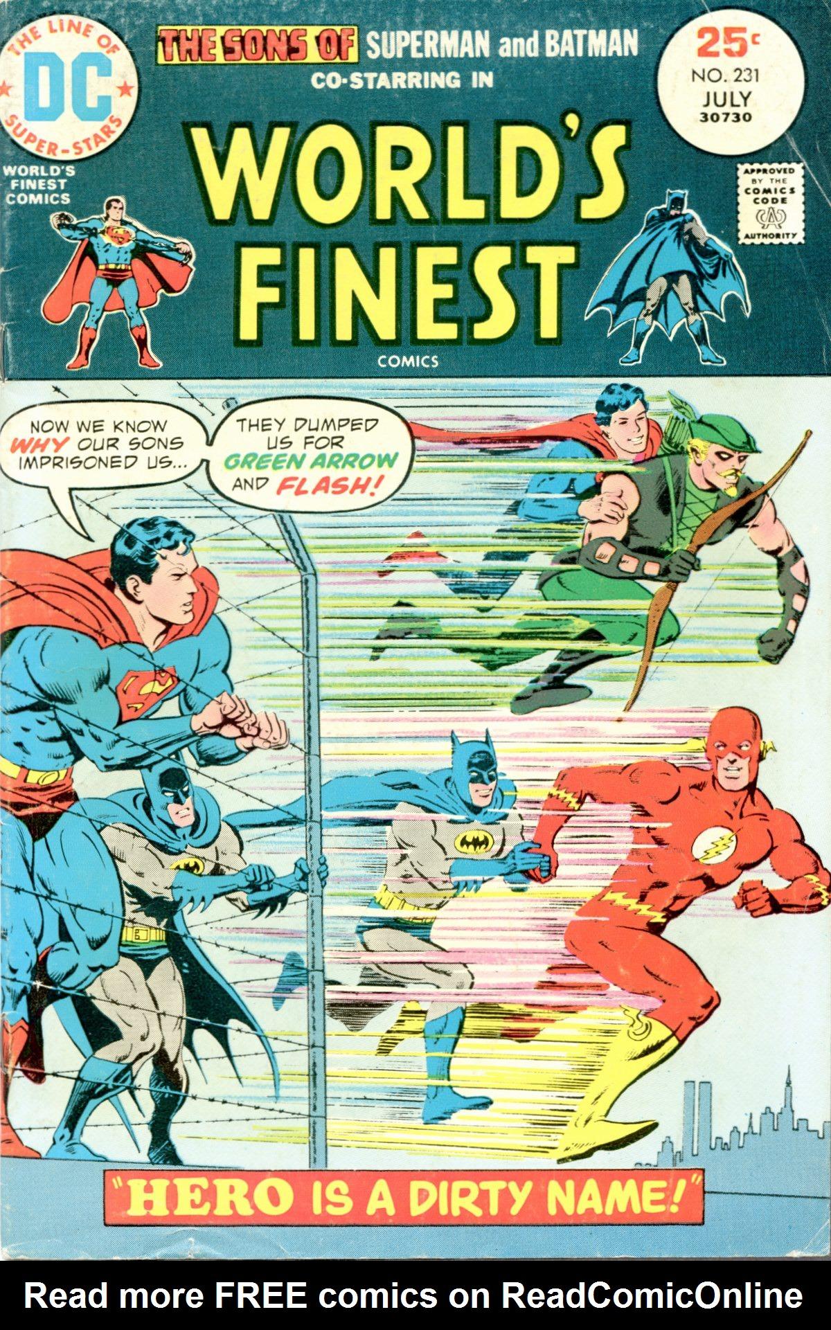 Read online World's Finest Comics comic -  Issue #231 - 1