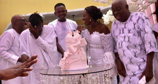 Photos from the naming ceremony of Stonebwoy's daughter, Catherine-Jiluda