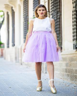 outfit de balet casual de moda tumblr