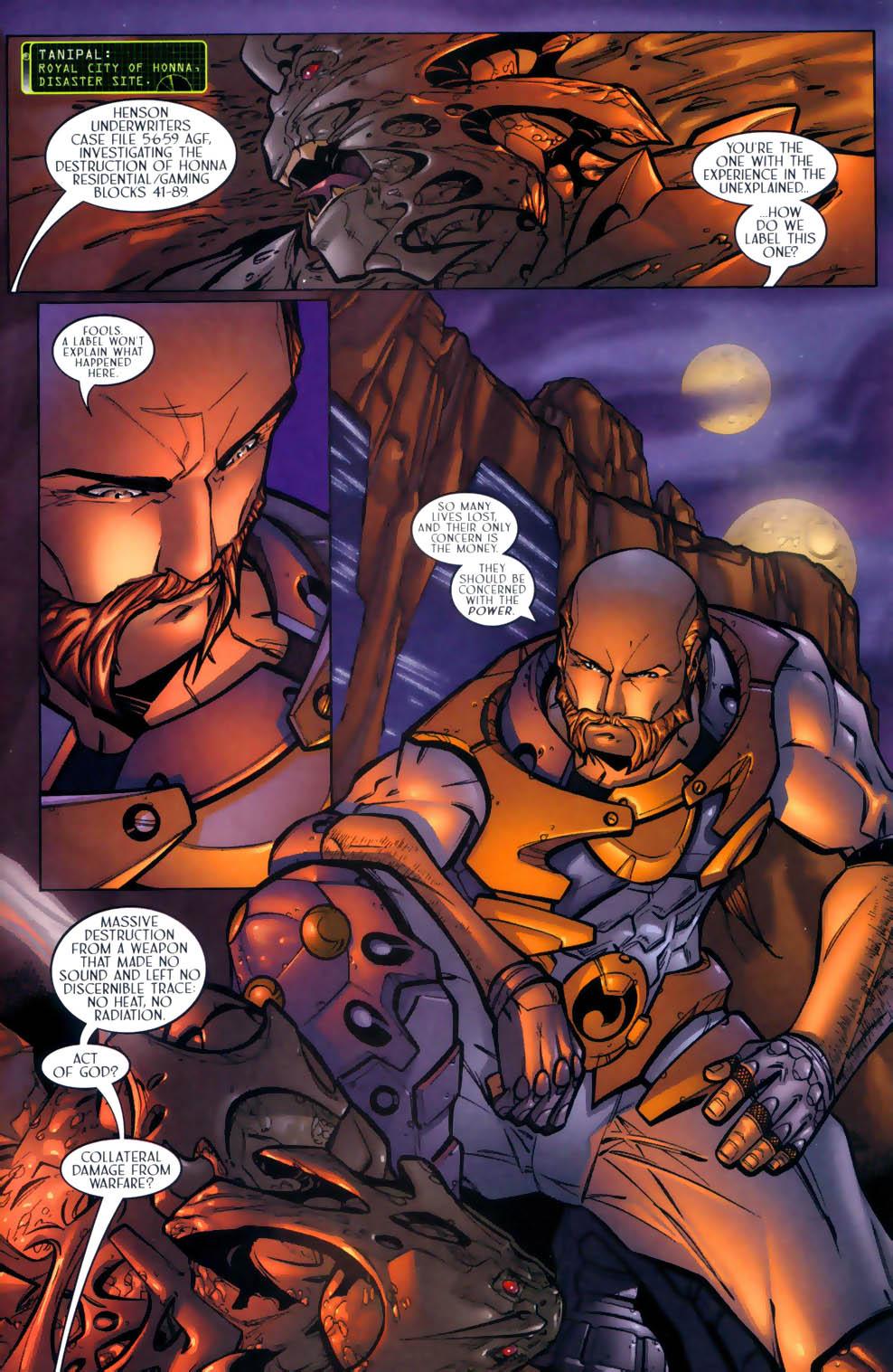 Read online Sigil (2000) comic -  Issue #2 - 3