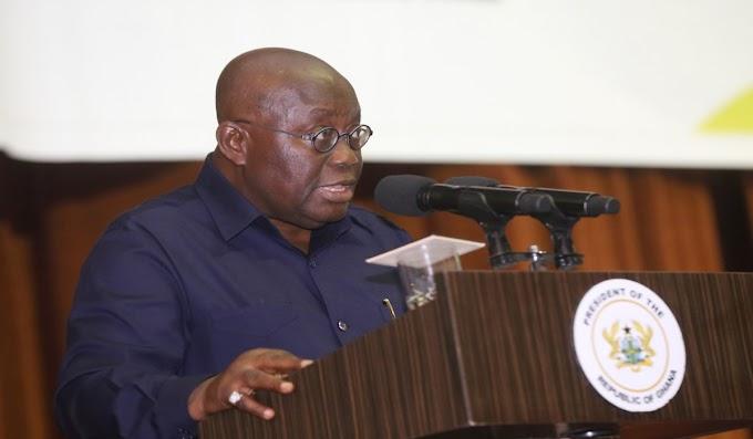 President Akufo-Addo Mourns JH Mensah