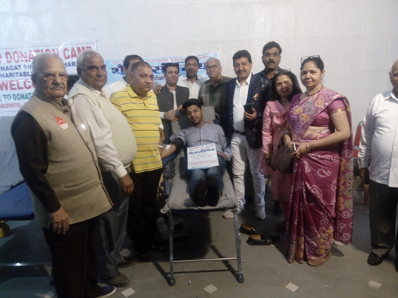 बन्नू मरवत बिरादरी ने थेलसिमिया ग्रस्त बच्चों के लिए विशाल रक्तदान शिविर का आयोजन किया