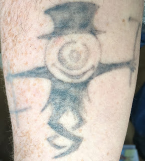 Tattoo fading after just over a year