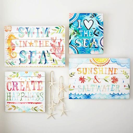 Katie Daisy Ocean Canvas Art