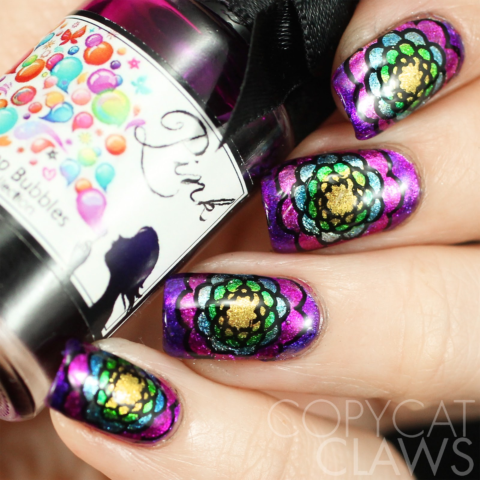 Copycat Claws: Esmaltes da Kelly Stamping Plate Review
