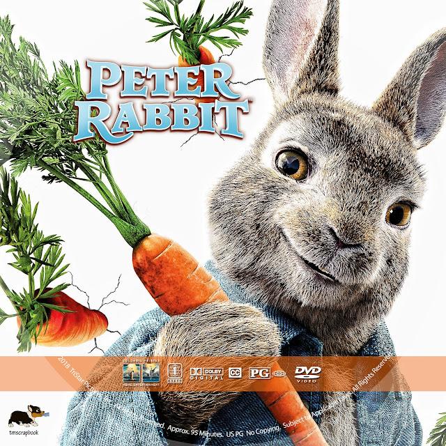 Peter Rabbit DVD Label