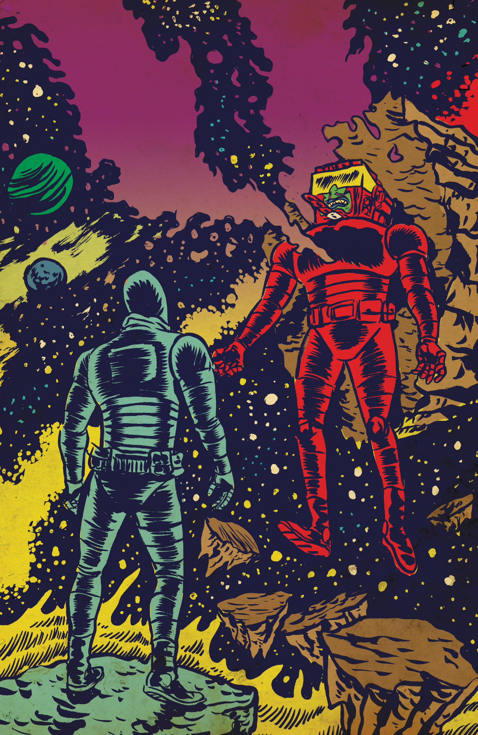Read online Space Riders comic -  Issue #4 - 21