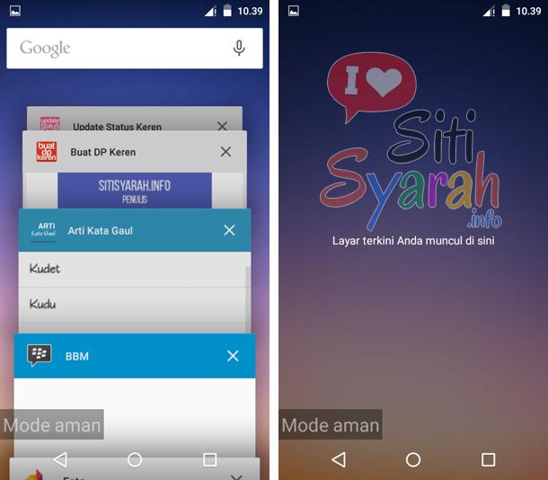 solusi tidak dapat menambahkan widget android