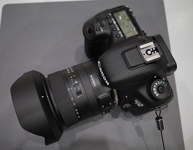 Tamron 10-24mm f/3.5-4.5 Di II VC HLD, вид сверху