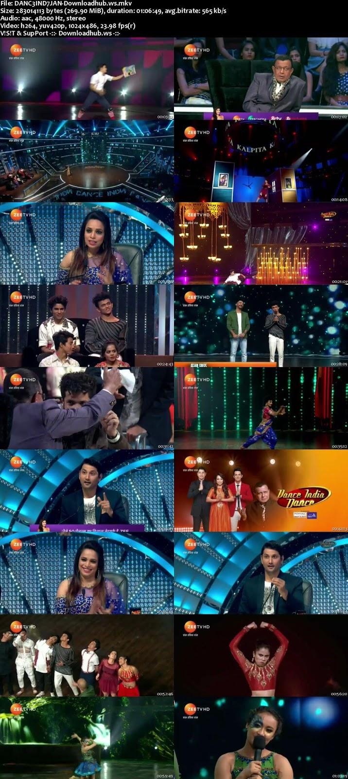 Dance India Dance 6 07 January 2018 Episode 19 HDTV 480p