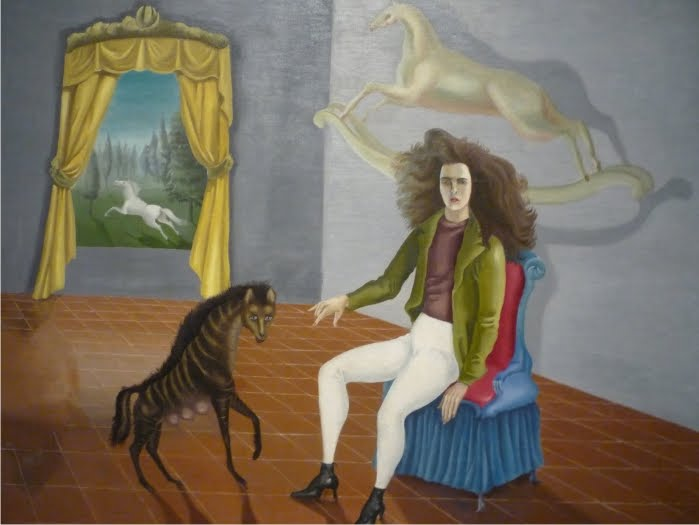 Autoretrato Leonora Carrington