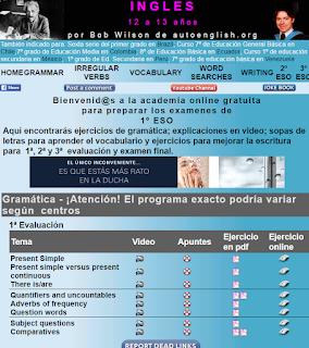 REPASO DE INGLES PARA SECUNDARIA: VÍDEOS, APUNTES, EJERCICIOS PARA IMPRIMIR Y ON-LINE