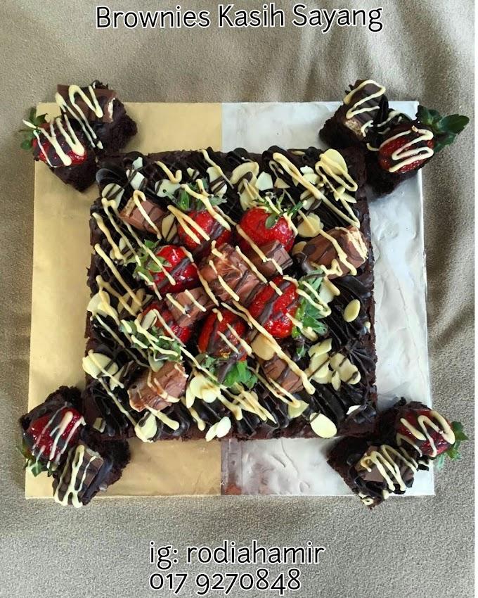 Saya Jual Brownies Kasih Sayang Sedap