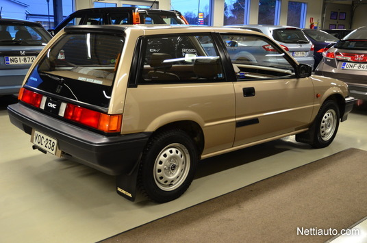 Tamerlane's Thoughts: 1984 Honda Civic with 52,000 km for ...