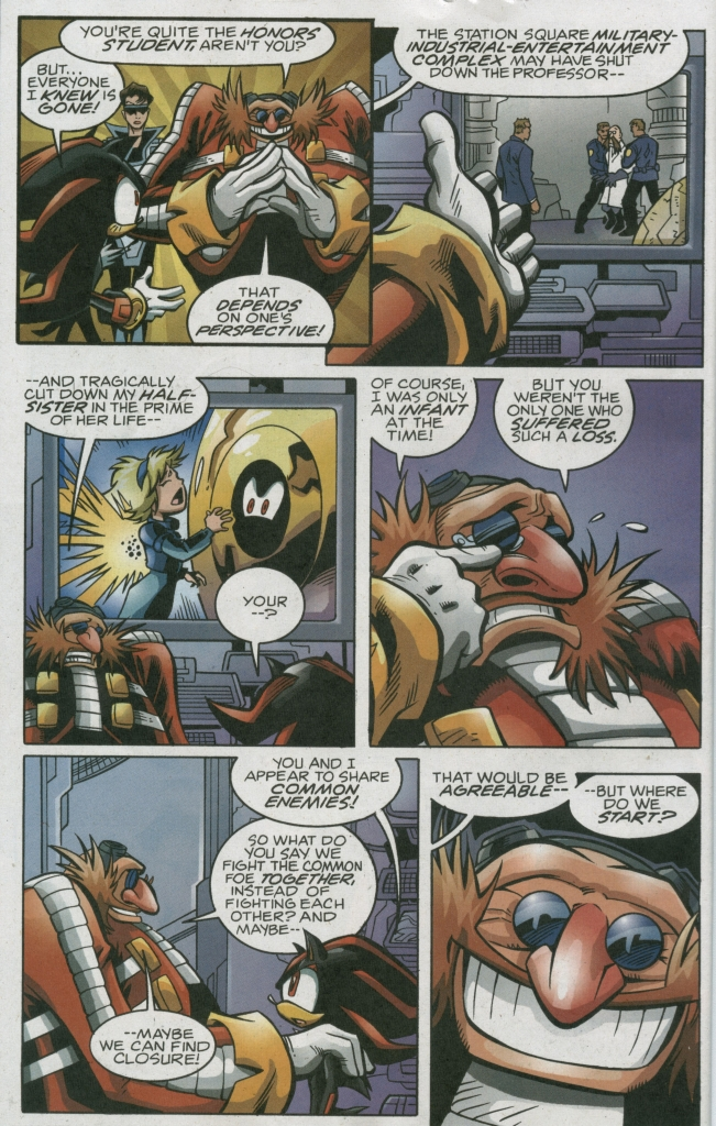 Read online Sonic The Hedgehog comic -  Issue #158 - 12