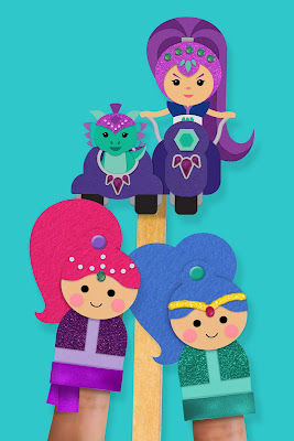 Shimmer and Shine printable activities