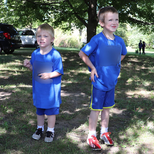 The Boys' First Soccer Game