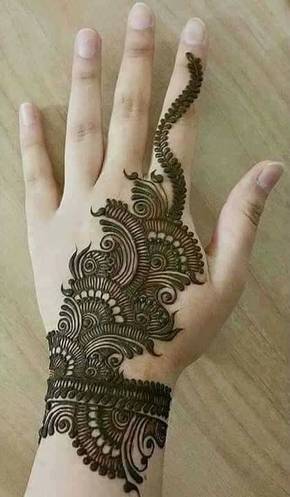Arabic Mehndi Design For Men: 45 Latest Pakistani Mehndi Designs For All Occasions