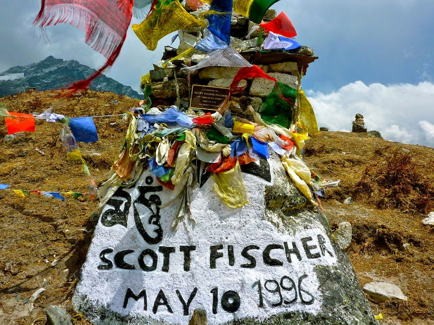 Scott Fisher Memorial - My 25 Photos Of The Everest Base Camp Trek