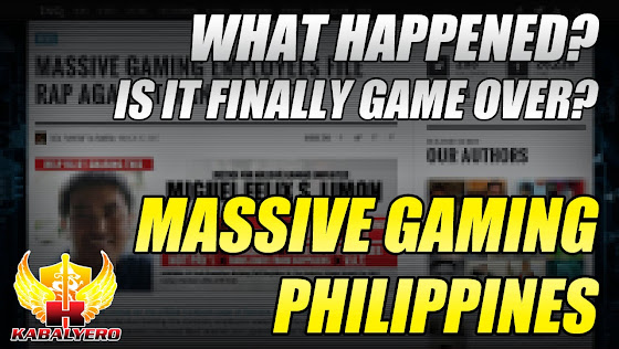 Massive Gaming Philippines - What Happened? Is It Finally Game Over?
