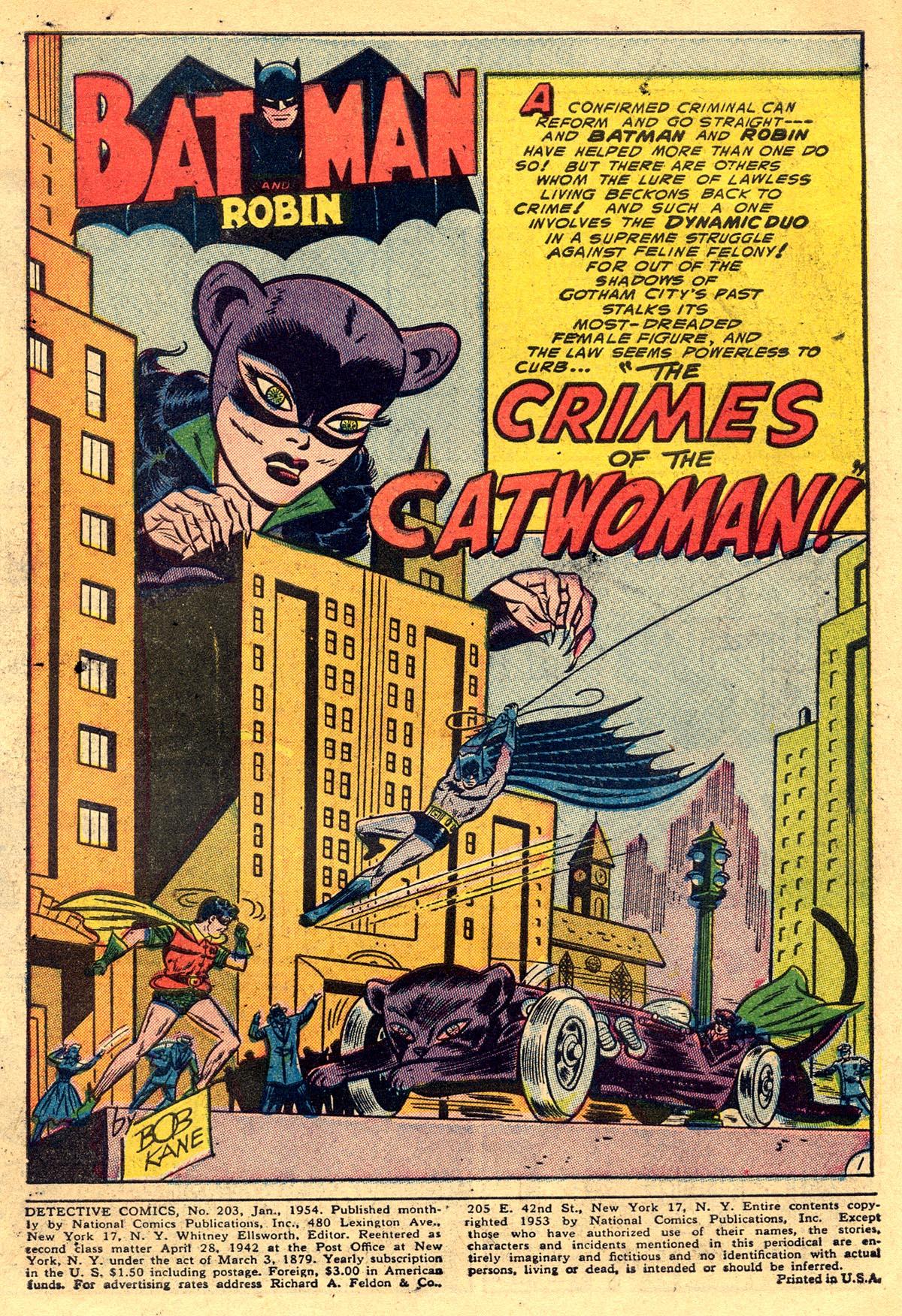 Read online Detective Comics (1937) comic -  Issue #203 - 3
