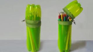 Cara Membuat Produk Kreatif daur ulang Botol Bekas