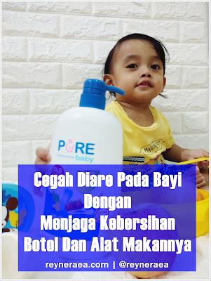 acara mencegah diare pada bayi
