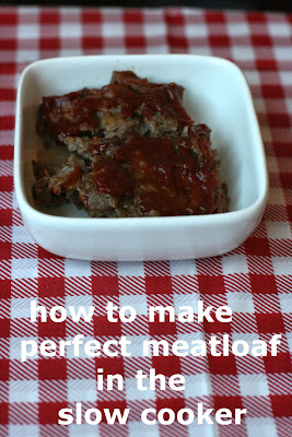 it's super easy to make fool-proof meatloaf in the crockpot slow cooker. You will get moist, delicious meatloaf every time!
