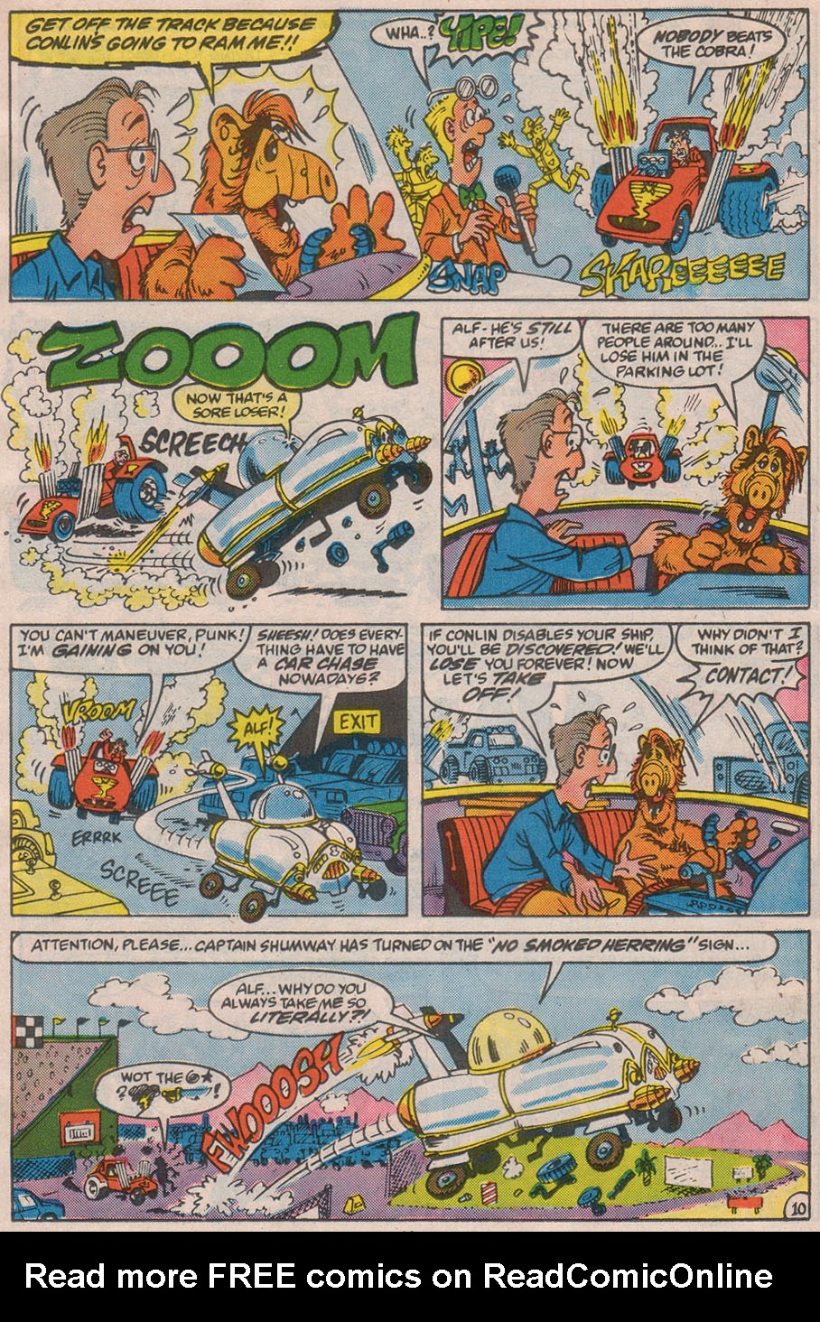 Read online ALF comic -  Issue #13 - 16