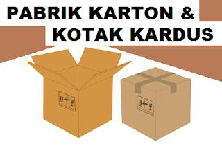 industri pembuatan kotak kemasan dari bahan kertas karton / kardus