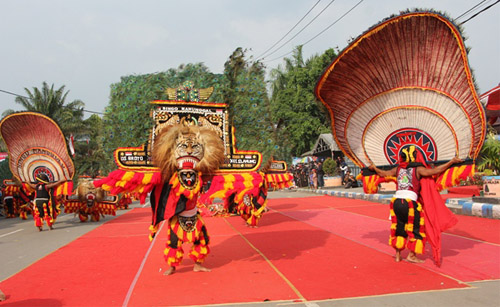 Reog Ponorogo Traditional Indonesia Dance from Ponorogo