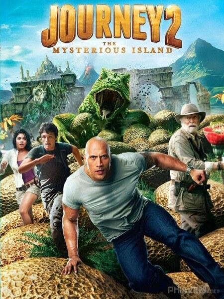 Cuoc phieu luu den hon dao huyen bi - Journey 2: The Mysterious Island 2012 Vietsub