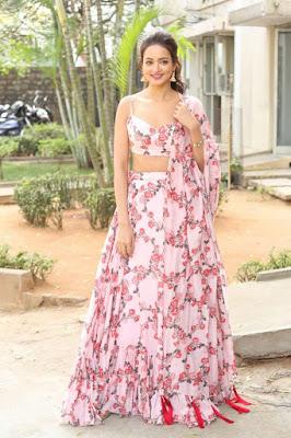 Actress Shanvi Srivastava Latest Stills at AthadeSrimannarayana Press Meet HeyAndhra