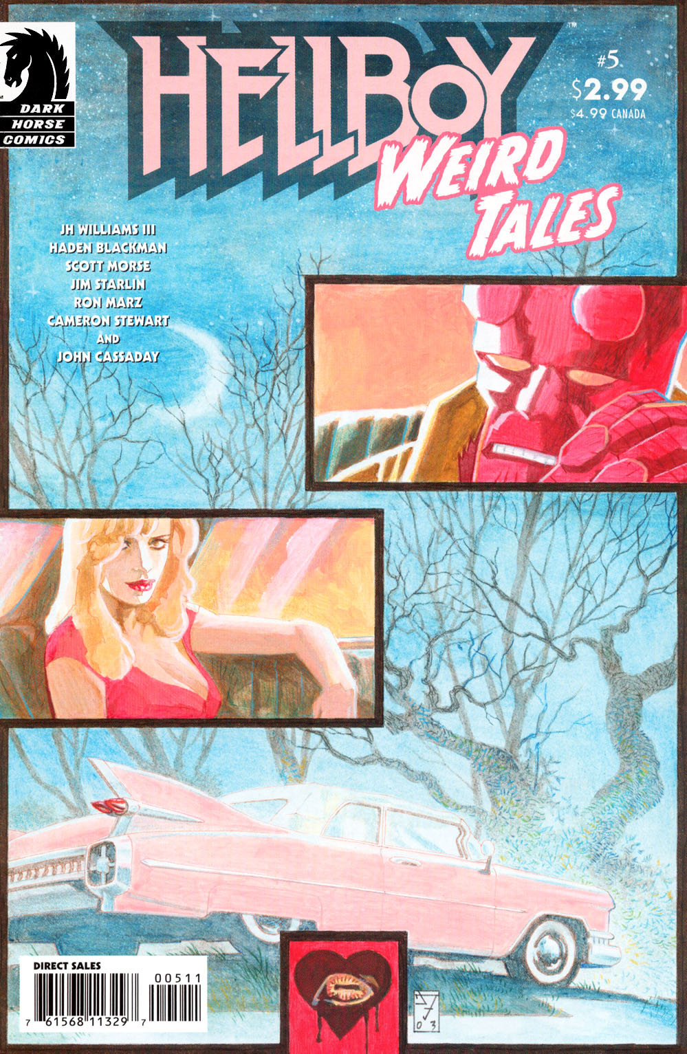 Read online Hellboy: Weird Tales comic -  Issue #5 - 1