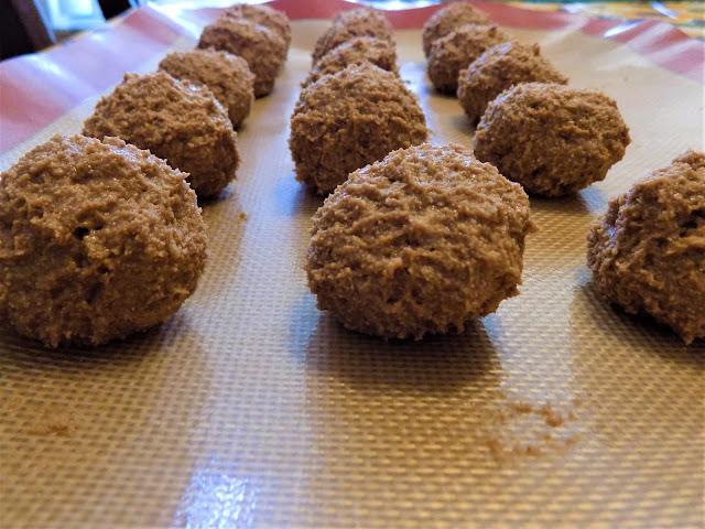 Peanut Butter Balls rolled