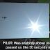 Πιλότος ανέφερε επαφή με UFO στην Αριζόνα των ΗΠΑ (Βίντεο)