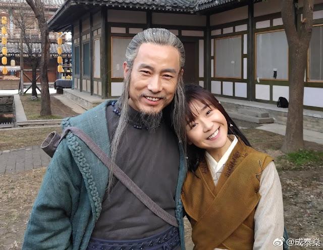 Ever Night 2 Cast Filming Song Yiren