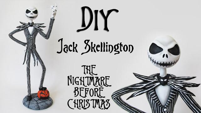 DIY: Como Fazer Jack Skellington - The Nightmare Before Christmas