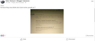 [Ask] Kenapa Blog Anda Tidak Muncul di Pencarian Google? Carai Mengatasinya