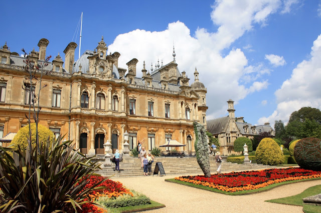 waddesdon manor national trust visit