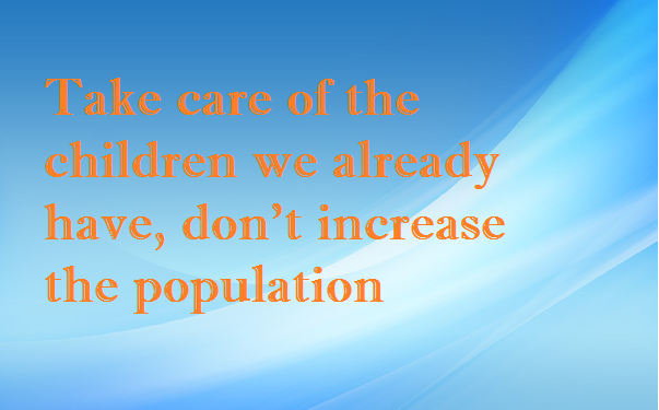 Overpopulation Quotes