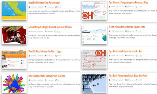 Tips, panduan serta cara bina blog terbaik dalam masa 5 minit