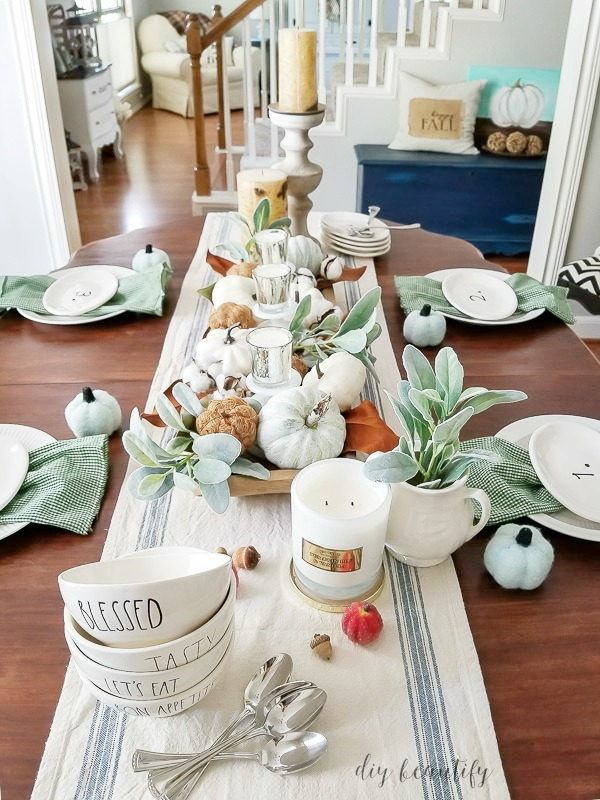 fall farm table
