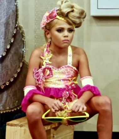 Reality TV Toddlers and Tiaras Pouty Pants