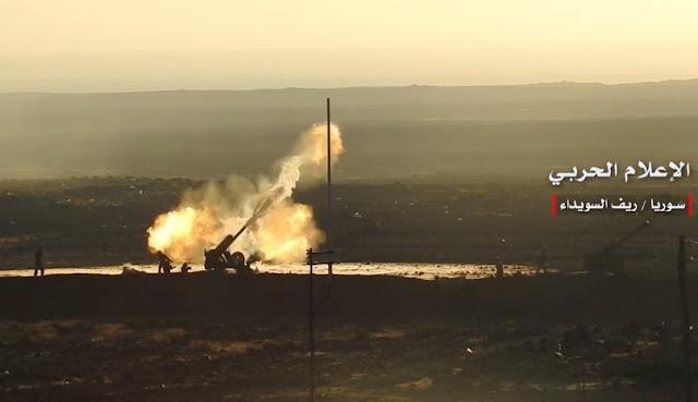 الجيش السوري يحرر أكثر من 4500 كم في البادية السورية.؟