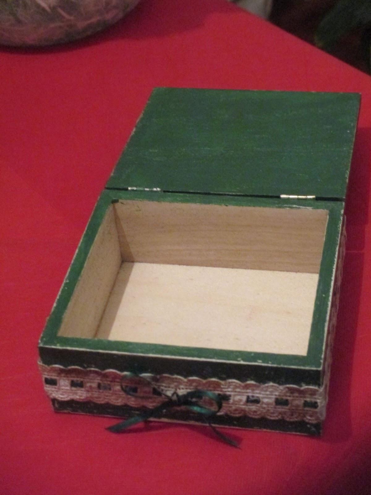 spesso Daisy Garden: Decorazione scatole di legno ZU06