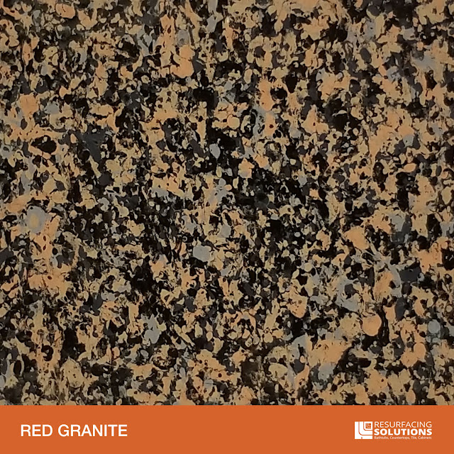 Resurfacing Solutions Knoxville Faux Granite Countertop Color Sample 45