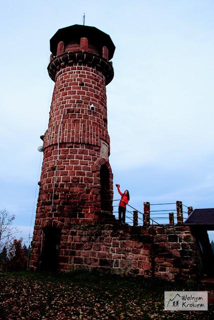 wieża widokowa Góra Wszystkich Świętych