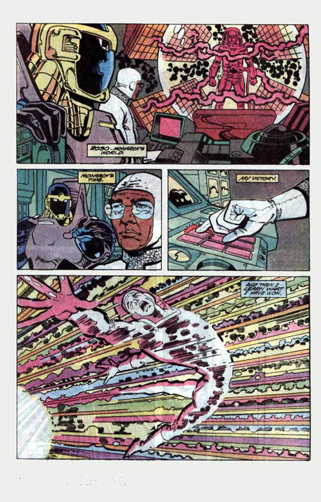 Read online Armageddon 2001 comic -  Issue #1 - 49